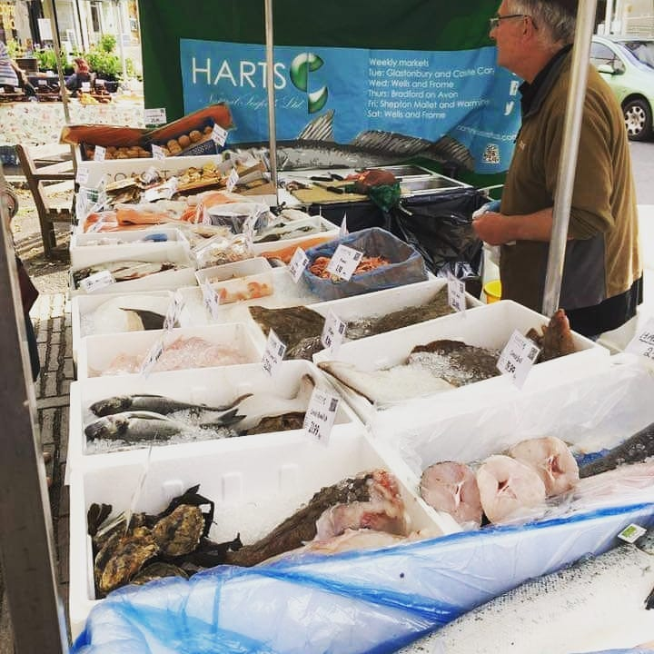 Fishmonger in Castle Cary